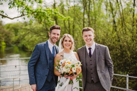 Rosa Clara for a Stylish Wedding at The West Mill (c) S6 Photography (110)