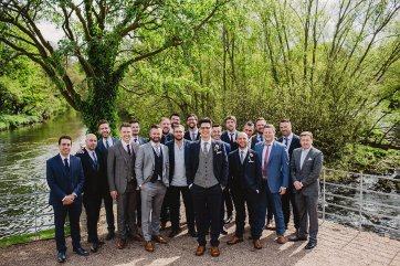 Rosa Clara for a Stylish Wedding at The West Mill (c) S6 Photography (118)