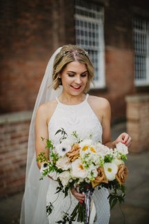 Rosa Clara for a Stylish Wedding at The West Mill (c) S6 Photography (138)