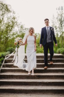 Rosa Clara for a Stylish Wedding at The West Mill (c) S6 Photography (143)