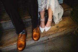 Rosa Clara for a Stylish Wedding at The West Mill (c) S6 Photography (177)