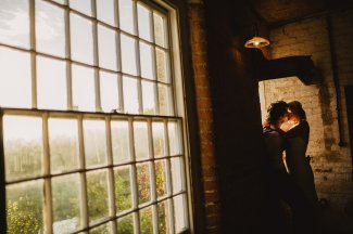 Rosa Clara for a Stylish Wedding at The West Mill (c) S6 Photography (178)