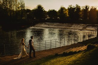 Rosa Clara for a Stylish Wedding at The West Mill (c) S6 Photography (182)