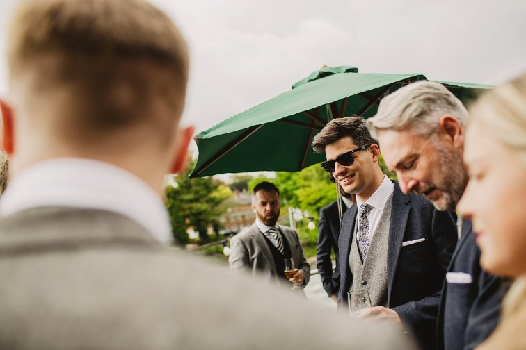Rosa Clara for a Stylish Wedding at The West Mill (c) S6 Photography (25)
