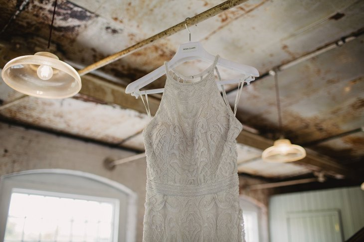 Rosa Clara for a Stylish Wedding at The West Mill (c) S6 Photography (32)