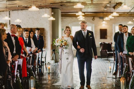 Rosa Clara for a Stylish Wedding at The West Mill (c) S6 Photography (69)