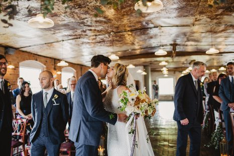 Rosa Clara for a Stylish Wedding at The West Mill (c) S6 Photography (71)