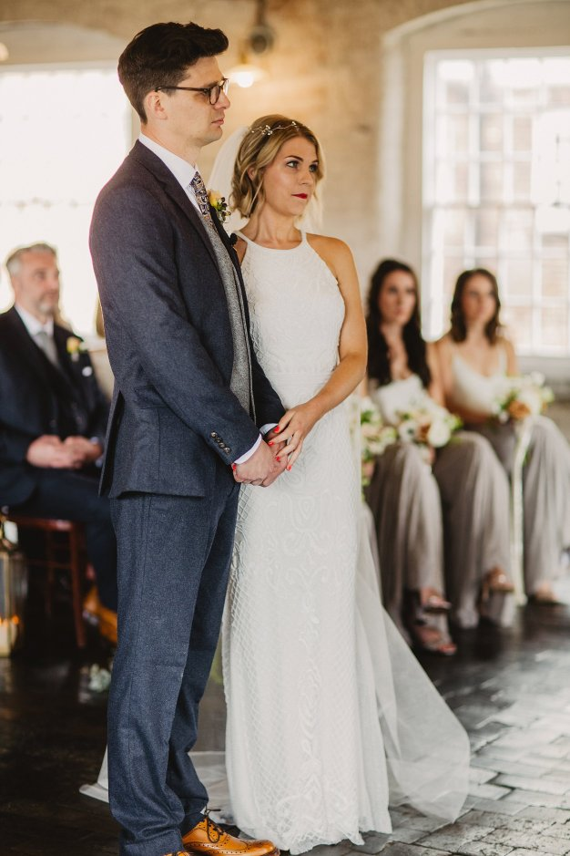 Rosa Clara for a Stylish Wedding at The West Mill (c) S6 Photography (73)