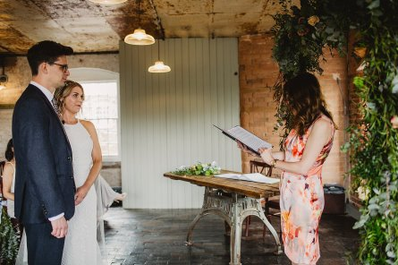 Rosa Clara for a Stylish Wedding at The West Mill (c) S6 Photography (80)