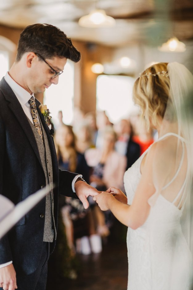 Rosa Clara for a Stylish Wedding at The West Mill (c) S6 Photography (89)