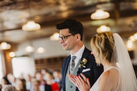 Rosa Clara for a Stylish Wedding at The West Mill (c) S6 Photography (93)
