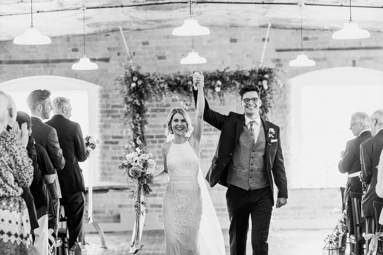 Rosa Clara for a Stylish Wedding at The West Mill (c) S6 Photography (99)