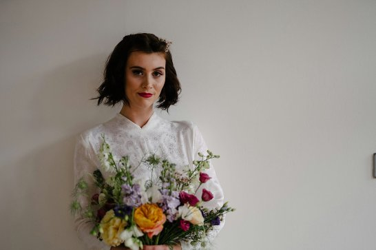 An Urban Styled Bridal Shoot at The Biscuit Factory (c) Dan McCourt (13)