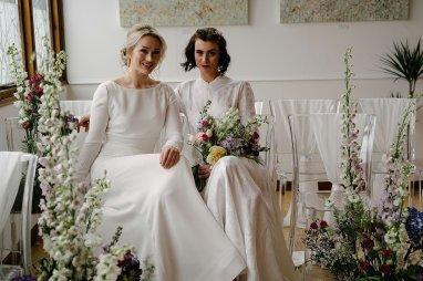 An Urban Styled Bridal Shoot at The Biscuit Factory (c) Dan McCourt (20)