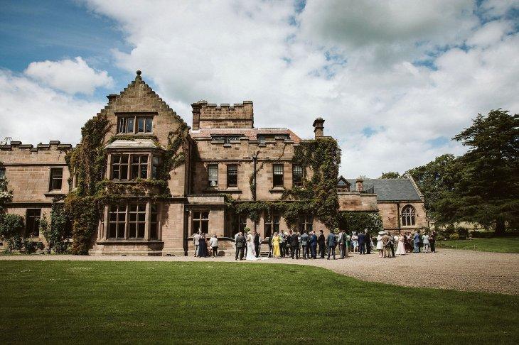 An Elegant Wedding at Ellingham Hall (c) Margarita Hope (36)