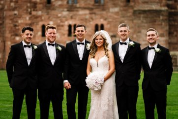 A Glamorous Wedding at Peckforton Castle (c) Madison Picture (55)