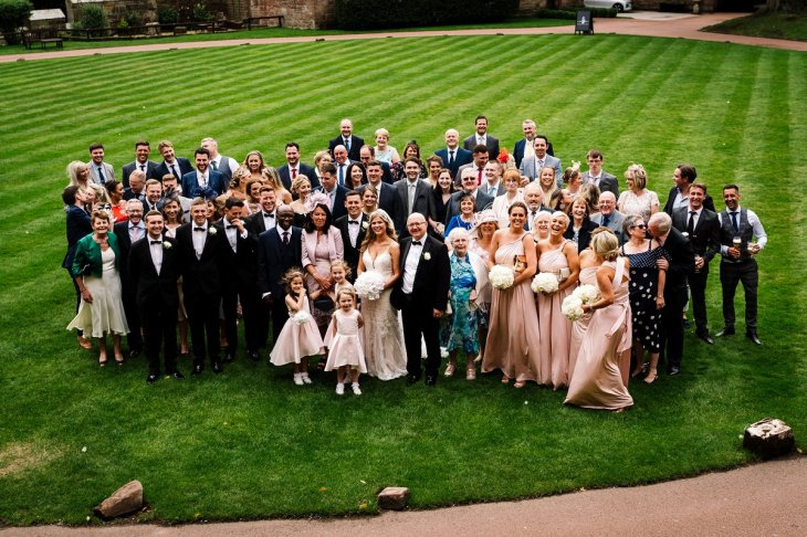 A Glamorous Wedding at Peckforton Castle (c) Madison Picture (62)