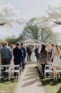A White Wedding at Somerford Hall (c) Wyldbee Photography (52)