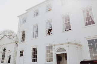 A White Wedding at Somerford Hall (c) Wyldbee Photography (9)