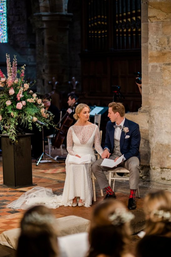 A Boho Wedding at Brinkburn Priory (c) Rachael Fraser (30)
