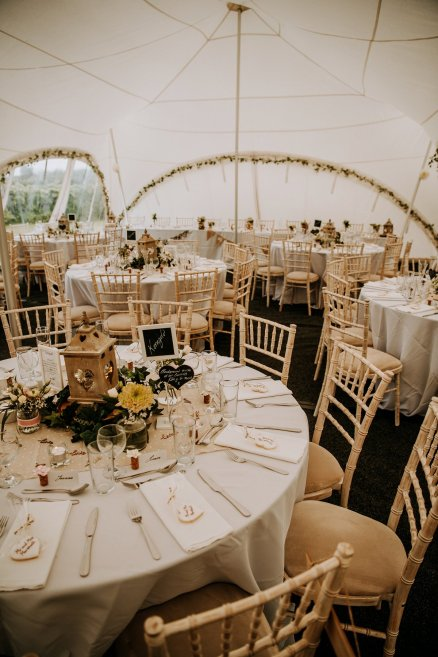 A Rustic Marquee Wedding in Lincolnshire (c) M & G Photographic (31)