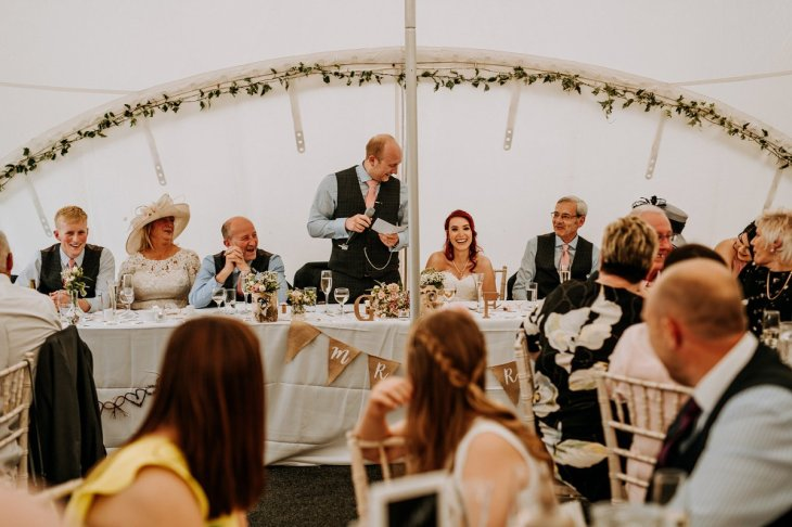 A Rustic Marquee Wedding in Lincolnshire (c) M & G Photographic (66)