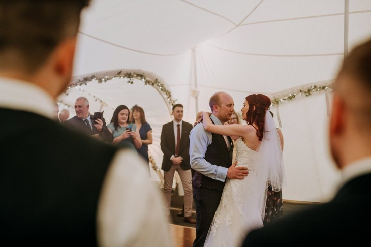 A Rustic Marquee Wedding in Lincolnshire (c) M & G Photographic (88)