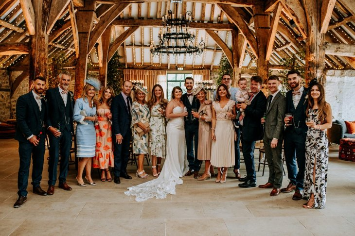 A Rustic Wedding at The Tithe Barn (c) M&G Photographic (78)