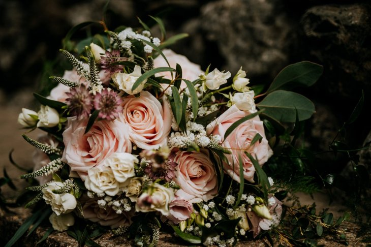 A Rustic Wedding at The Tithe Barn (c) M&G Photographic (9)