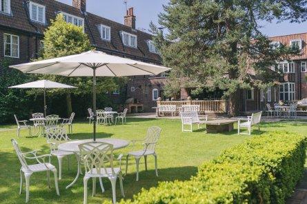Gardens at Ye Olde Bell