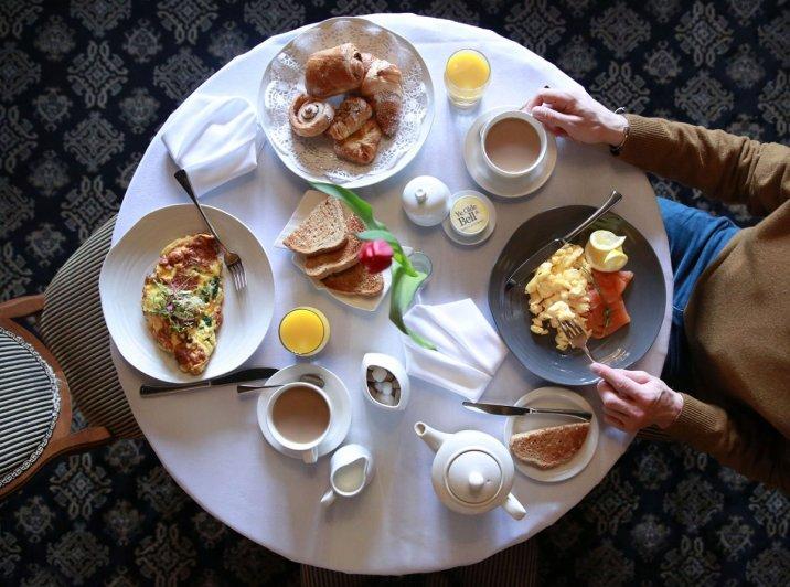 Ye Olde Bell - breakfast
