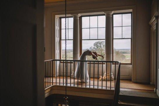 A ballet inspired bridal shoot at Leadenham Estate (c) Kyle Baxter Photography (11)