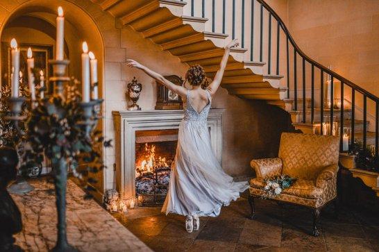 A ballet inspired bridal shoot at Leadenham Estate (c) Kyle Baxter Photography (15)