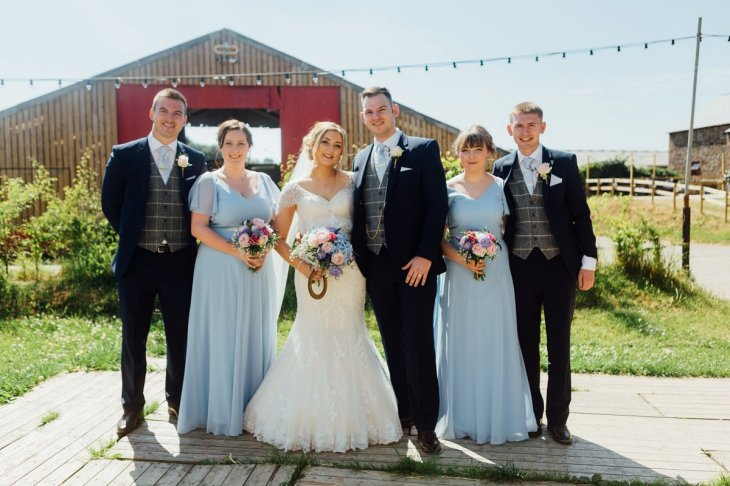 A Rustic Wedding at Three Hills Barn (c) Lauren McGuiness Photography (59)