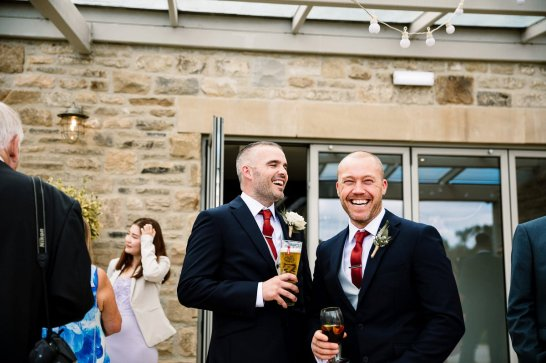 A Rustic Wedding at Yorkshire Wedding Barn (c) Hayley Baxter Photography (40)