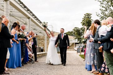 A Rustic Wedding at Yorkshire Wedding Barn (c) Hayley Baxter Photography (49)