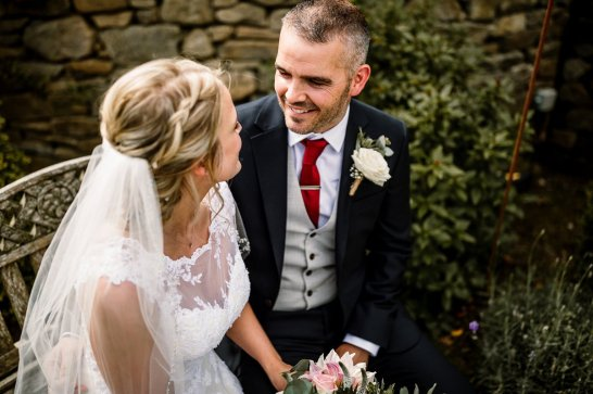 A Rustic Wedding at Yorkshire Wedding Barn (c) Hayley Baxter Photography (54)