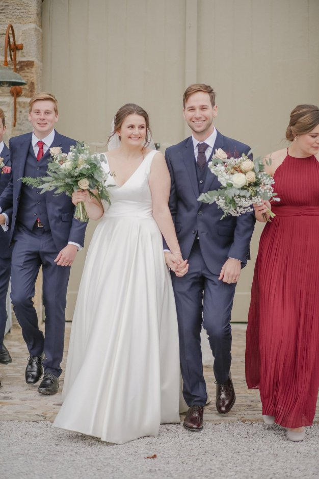 An Autumn Wedding at The Tithe Barn (c) Helen Russell Photography (46)
