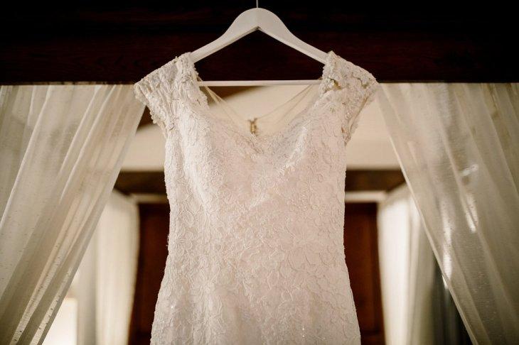 A Pronovias Wedding Dress for a Rustic Barn Wedding at Sandburn Hall (c) Hayley Baxter Photography (1)