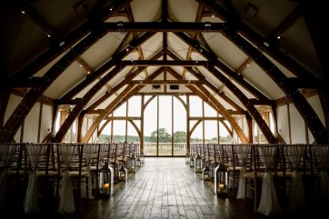 A Pronovias Wedding Dress for a Rustic Barn Wedding at Sandburn Hall (c) Hayley Baxter Photography (31)