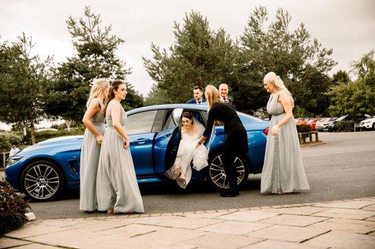 A Pronovias Wedding Dress for a Rustic Barn Wedding at Sandburn Hall (c) Hayley Baxter Photography (34)