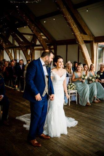 A Pronovias Wedding Dress for a Rustic Barn Wedding at Sandburn Hall (c) Hayley Baxter Photography (43)