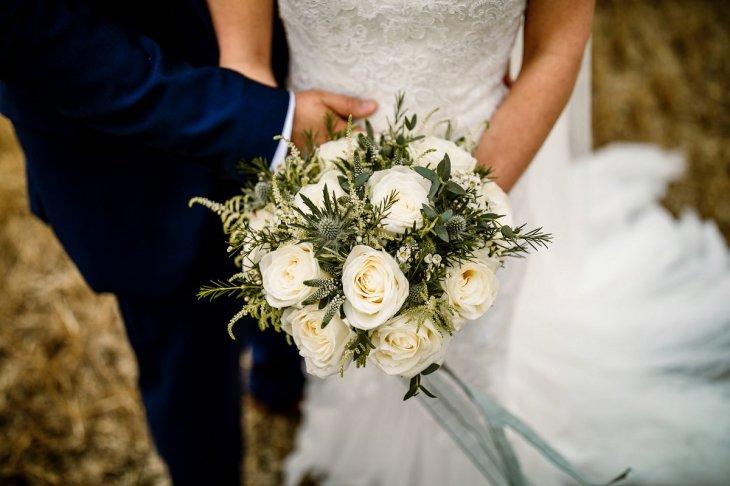 A Pronovias Wedding Dress for a Rustic Barn Wedding at Sandburn Hall (c) Hayley Baxter Photography (63)