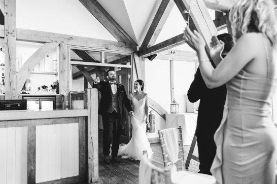 A Pronovias Wedding Dress for a Rustic Barn Wedding at Sandburn Hall (c) Hayley Baxter Photography (91)