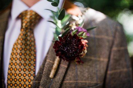 A Styled Woodland Wedding Shoot at Hazlewood Castle (c) Anna Beth Photography (2)