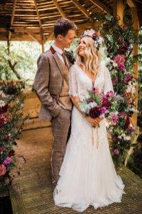 A Styled Woodland Wedding Shoot at Hazlewood Castle (c) Anna Beth Photography (21)