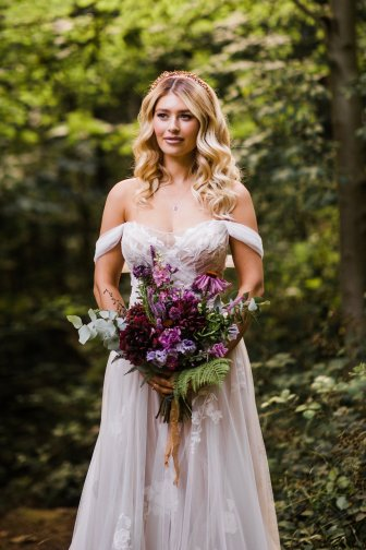 A Styled Woodland Wedding Shoot at Hazlewood Castle (c) Anna Beth Photography (33)