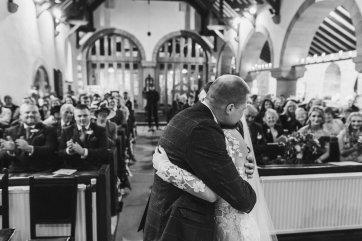 Pronovias Wedding Dress for a Winter Wedding at Mitton Hall (c) Kieran Bellis Photography for Brides Up North (27)