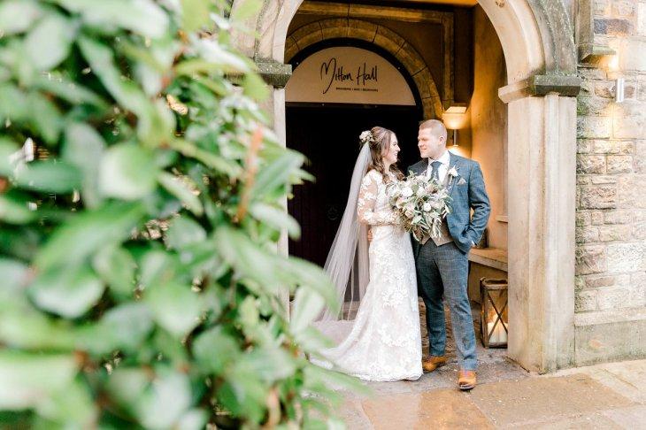 Pronovias Wedding Dress for a Winter Wedding at Mitton Hall (c) Kieran Bellis Photography for Brides Up North (46)