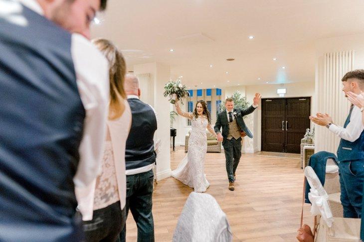 Pronovias Wedding Dress for a Winter Wedding at Mitton Hall (c) Kieran Bellis Photography for Brides Up North (61)
